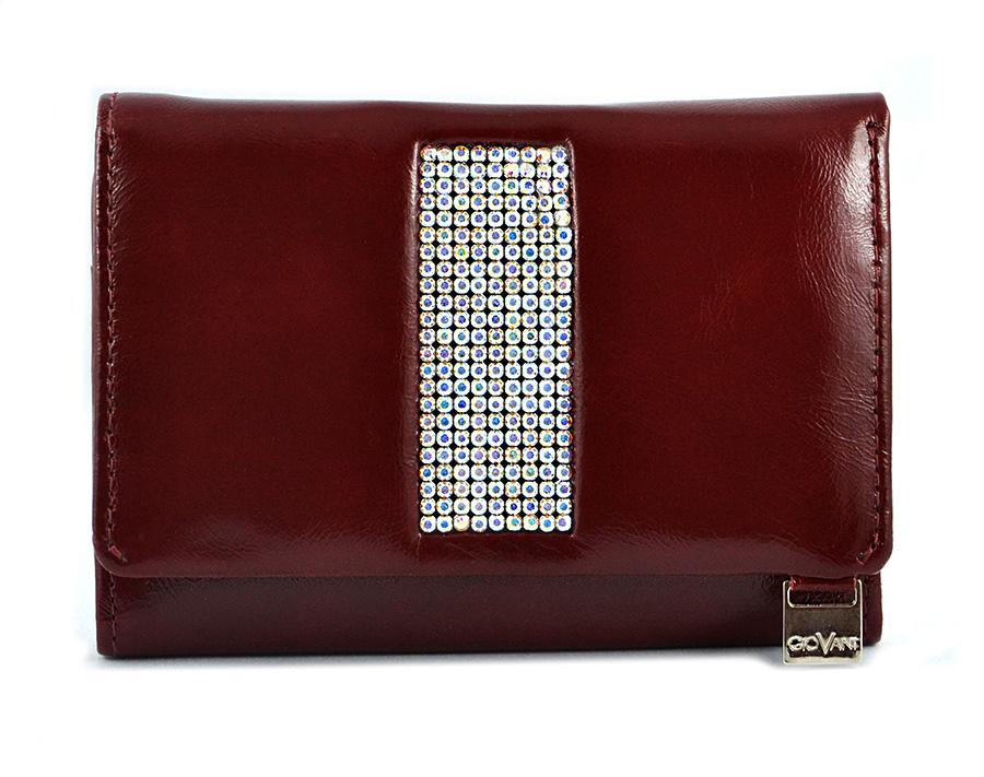 c2769f38db07d cv-230 Swarovski skórzany portfel damski kolekcja Giovani to ...