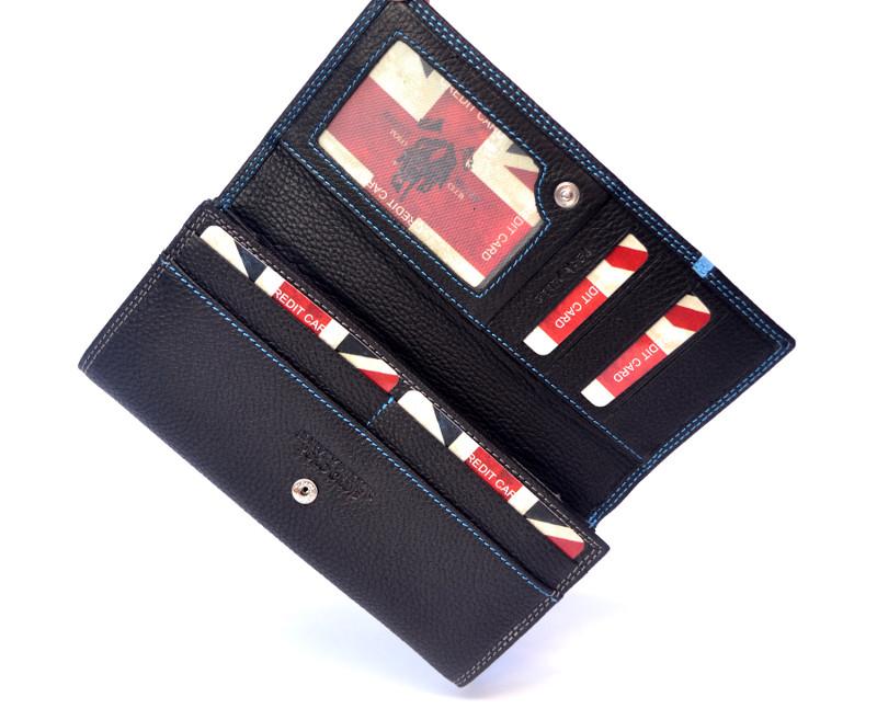 7631616cd555f Harvey Miller Polo skórzany portfel damski G18 potęga