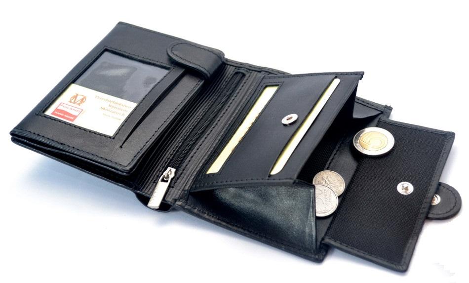 10b6c63428e59 MARCO portfel skórzany PM-233 Skóra Prada