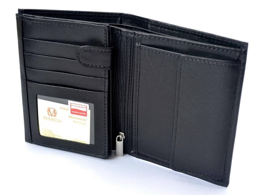 5351fe78f2b22 MARCO portfel skórzany PM-02 Skóra Prada