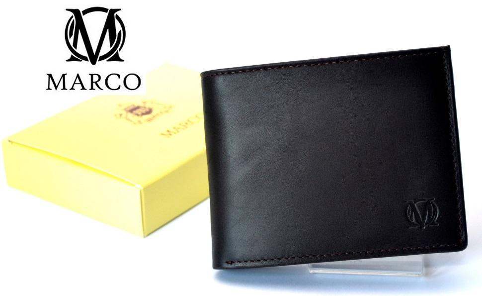fbea8890717f4 MARCO portfel skórzany PM-232 Skóra Prada