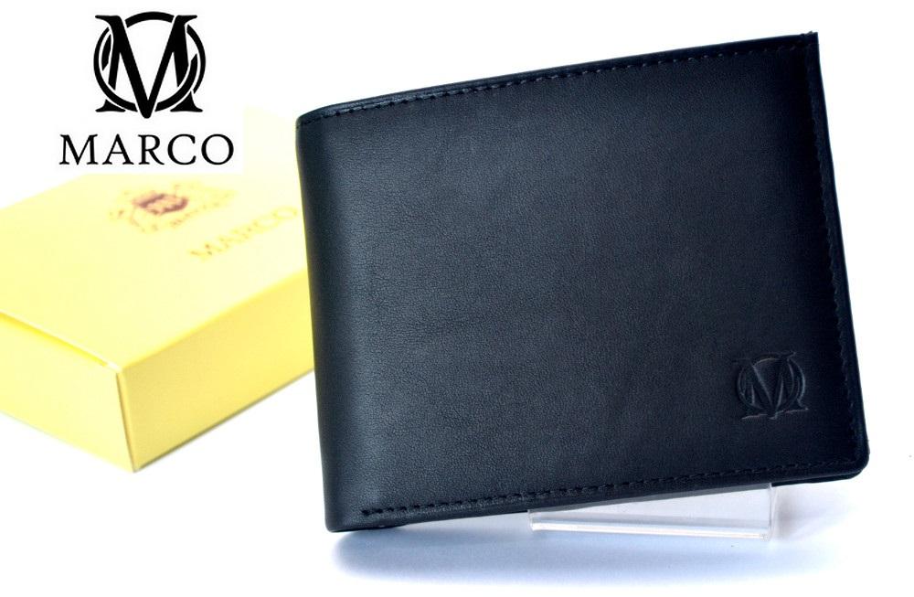 1873e2b19e52e MARCO portfel skórzany PM-232 Skóra Prada