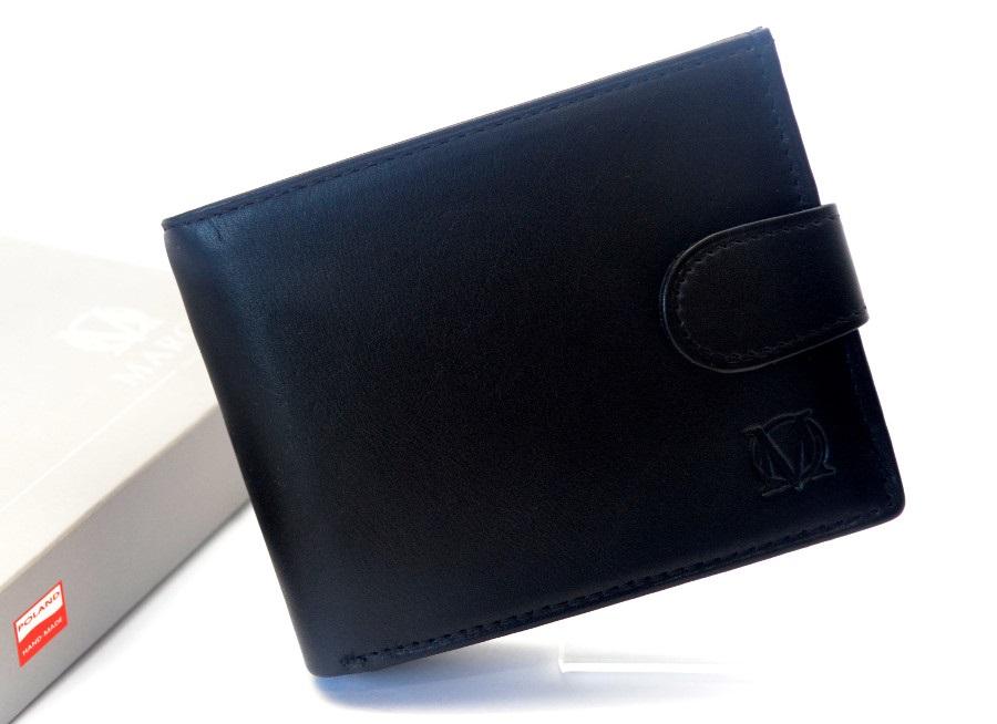 763a3ff37eb15 MARCO zapinany portfel skórzany PM-232-z Skóra Prada