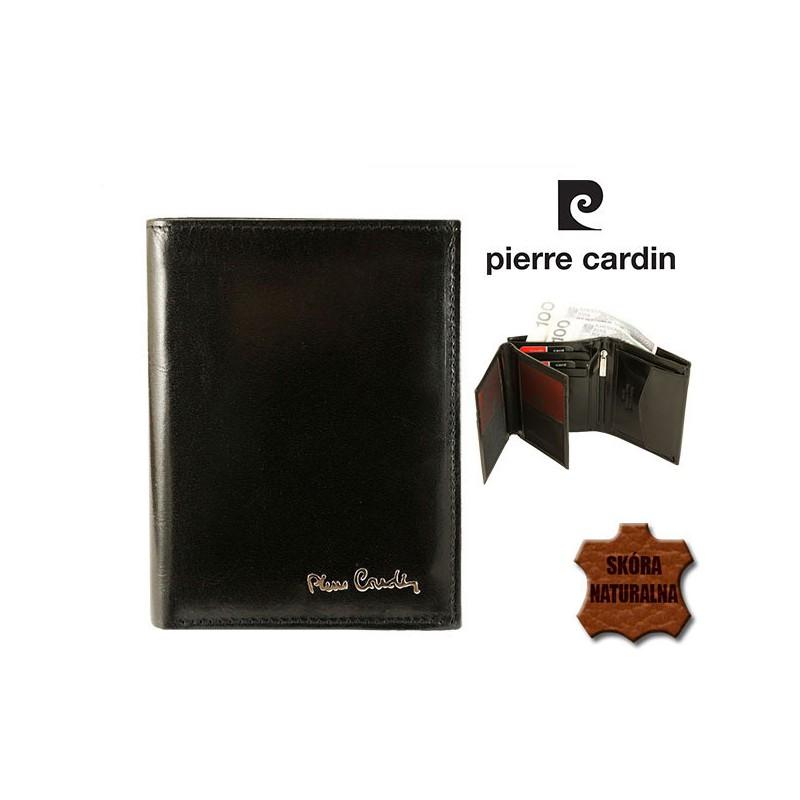 eaf055e5e596b PIERRE CARDIN skórzany portfel męski 326 MAR czarny *NEW ...