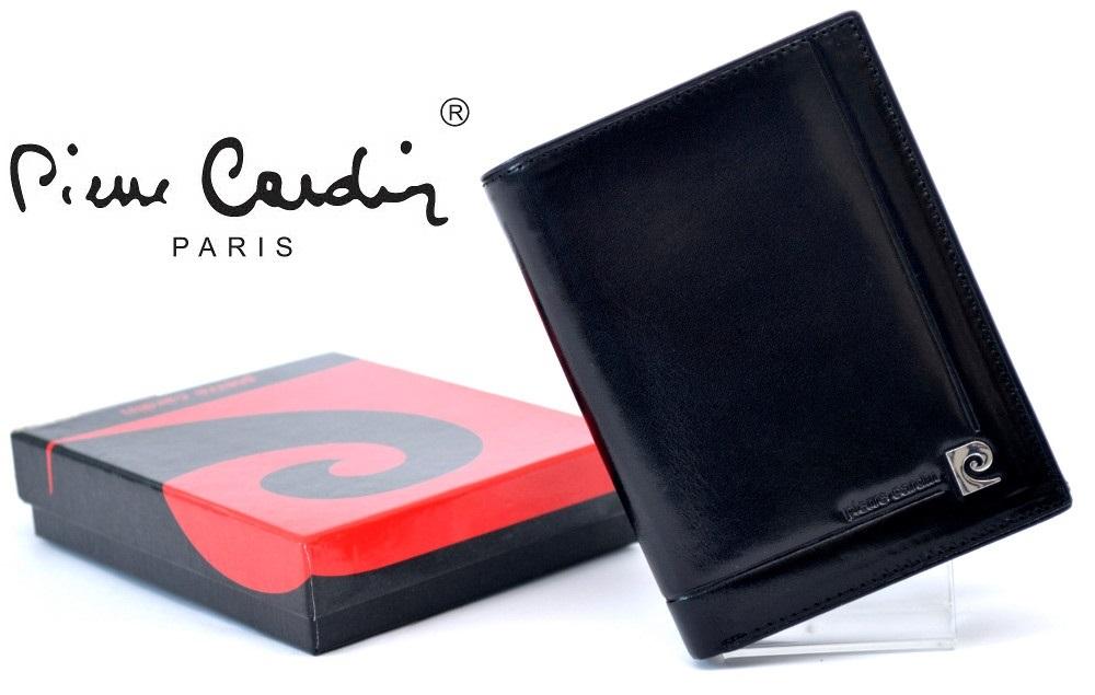 3c5637fddb878 PIERRE CARDIN 900 skórzany portfel męski *NEW