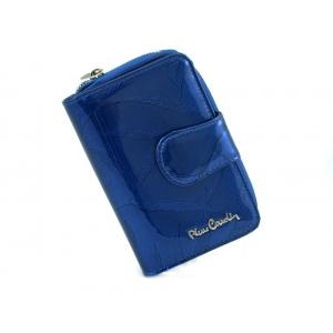 645b1ffdc8636 PIERRE CARDIN skórzany portfel damski 02 LEAF 115 niebieski
