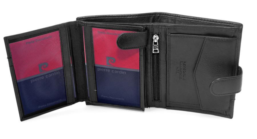 e058c2a71c1cb PIERRE CARDIN skórzany portfel męski 326A * ochrona RFID