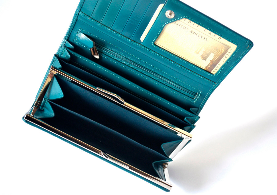 505cd8b891994 STEFANIA 007-L damski portfel skórzany