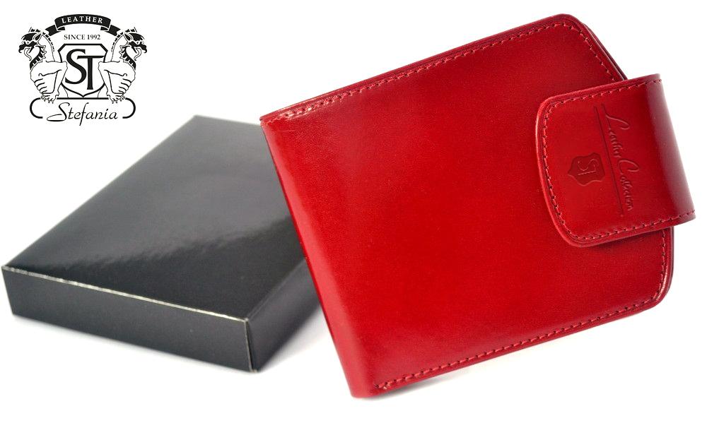 32cffe8db71fa stefania 012 skórzany portfel damski to najlepsze produkty w swojej ...