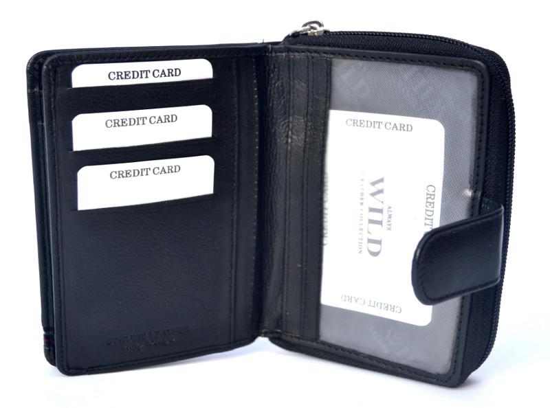 52a651e5888bd ALWAYS WILD damski portfel skórzany N503
