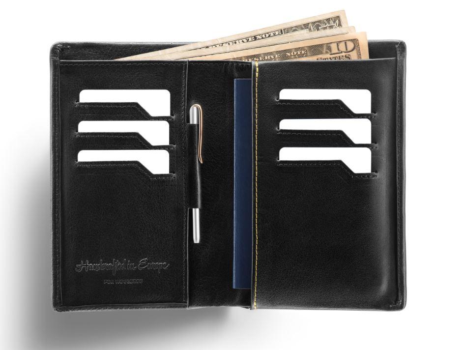 e7bf450198c68 Woolet inteligentny portfel męski skórzany Travel XL+ Ładowarka QI