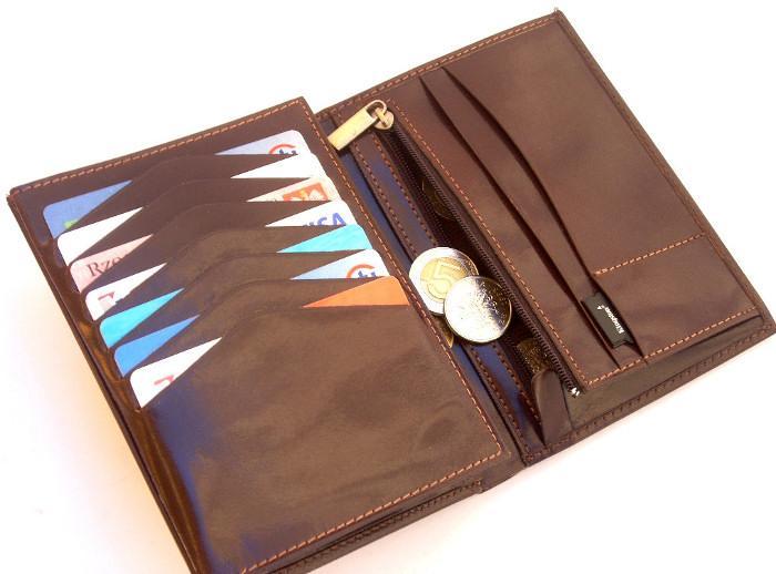 3ba12d667d63e STEFANIA 019 męski portfel skórzany na paszport